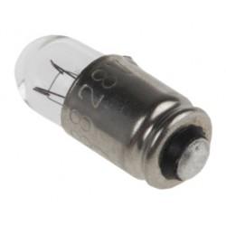 Lampe miniature T1 3/4, avec gorge
