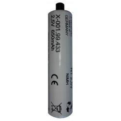 Batterie rechargeable Nimh NT (2,5V)