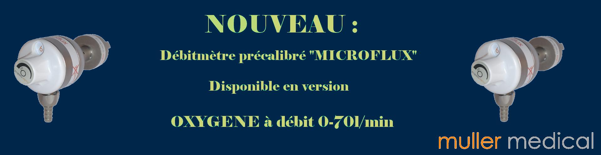 Débitmètre Microflux