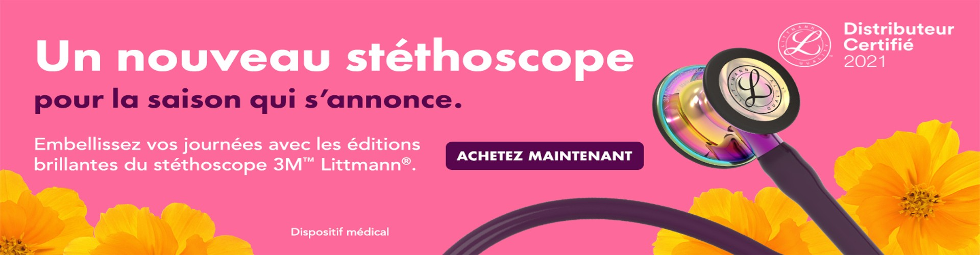 Stéthoscope Prune, Cardiology IV
